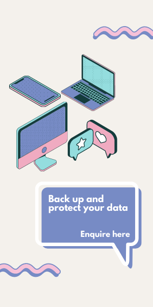 Data backup and security